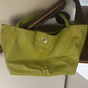 Kate Spade Vintage Chartreuse Tote Bag
